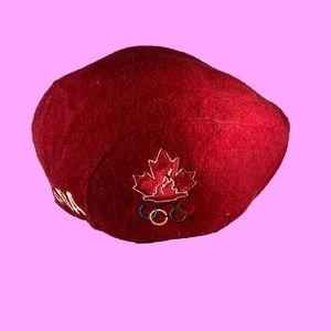 Roots Athletics Canada Olympics Beret Hat
